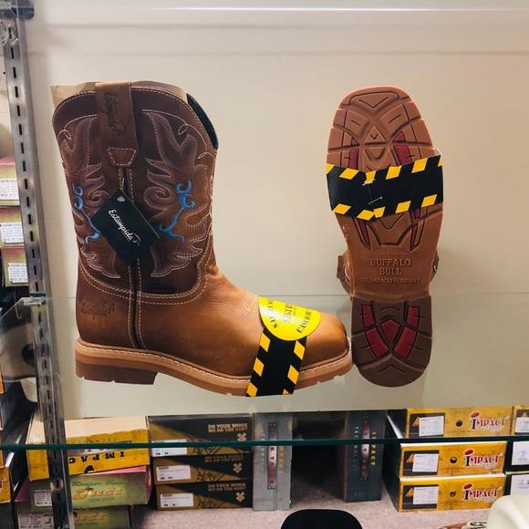 Buffalo Bull Work Boots